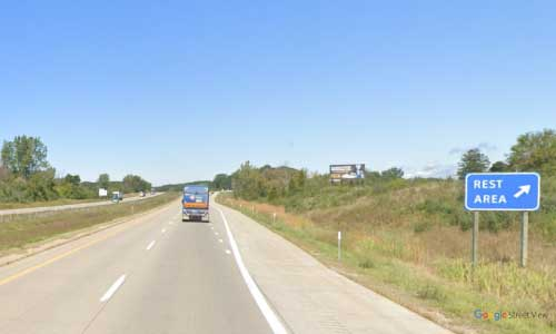 mi interstate 196 michigan i196 glenn rest area mile marker 28 eastbound off ramp exit