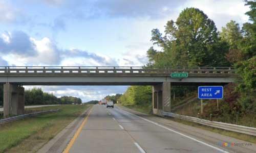 mi interstate 196 michigan i196 saugatuck rest area mile marker 43 southbound off ramp exit
