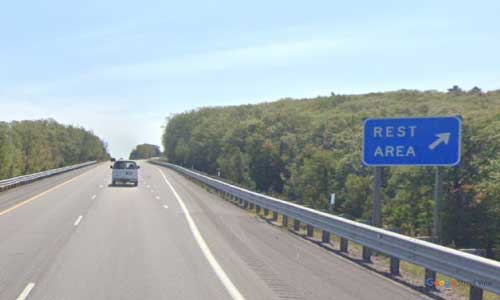 mi interstate 75 michigan i75 nine mile hill rest area mile marker 235 southbound off ramp exit