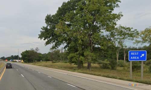 mi interstate 94 michigan i94 grass lake rest area mile marker 149 westbound off ramp exit