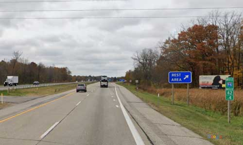 mi interstate 94 michigan i94 watervliet rest area mile marker 42 westbound off ramp exit