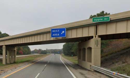 mi interstate 96 michigan i96 fruitport rest area mile marker 8 westbound off ramp exit