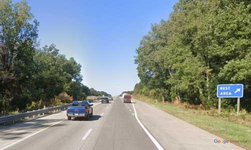 mi interstate 96 michigan i96 okemos rest area mile marker 111 westbound off ramp exit