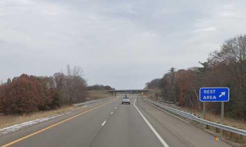 mi us route 131 michigan us131 morley rest area northbound mile marker 122 off ramp