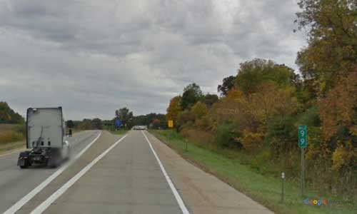 mi us route 131 michigan us131 rockford rest area southbound mile marker 99 off ramp